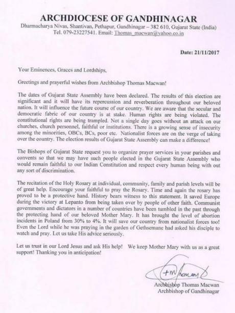Thomas MacWan Letter