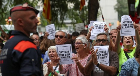 Catalan Protesters :