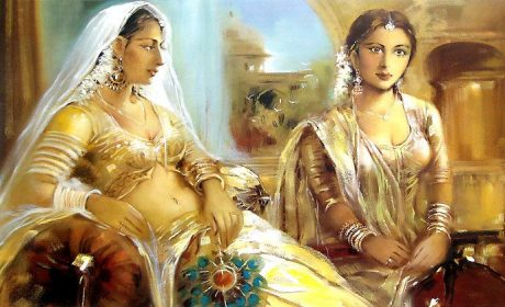 Padmavati and her maid