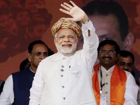 Narendra Modi in Jamnagar (2017)