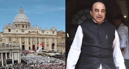 St Peter's Square & Subramanian Swamy