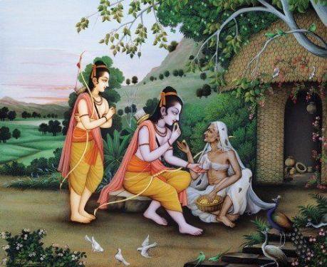 Rama & Shabari