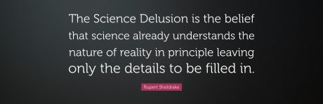 Rupert Sheldrake Quote