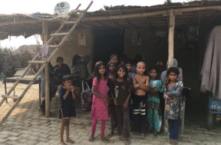 Hindu refugees in New Delhi