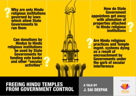 Govt control of Hindu temples