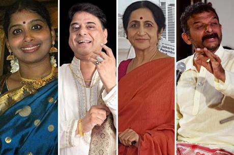Nityashree, O.S. Arun, Aruna Sairam, T.M. Krishna