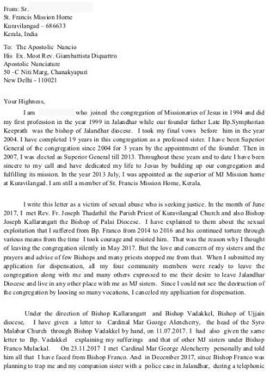 Nuns Letter (1)