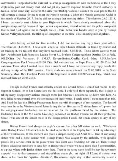 Nun's Letter (2)