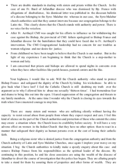 Nun's Letter (6)