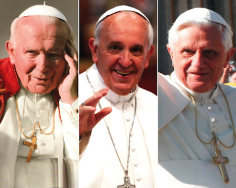 The Cover-up Popes : John Paul II, Francis, and Benedict XVI