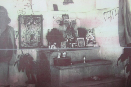 Ram images placed in the Babri Masjid in 1949.