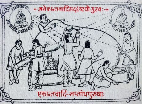 Seven blind men and the elephant.