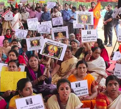Kerala Women Protest
