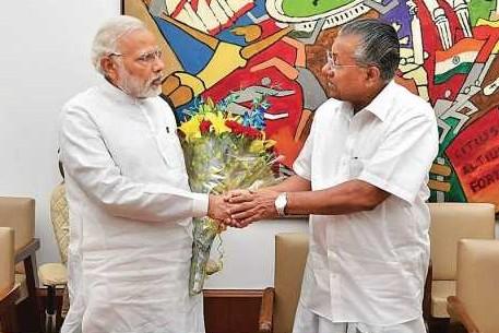 Narendra Modi & Pinarayi Vijayan