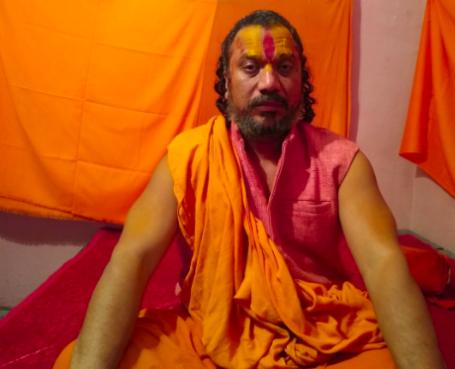 Mahant Paramhans Das of Ayodhya