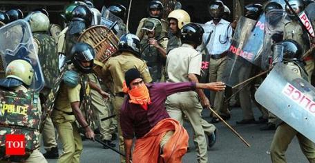 Kerala Clashes 3 Jan 2019