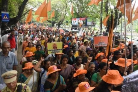Kerala Strike 3 Jan 2019