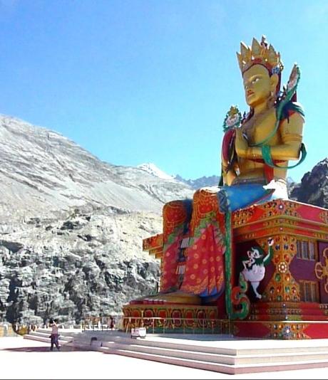 Maitreya Buddha in the Nubra Valley