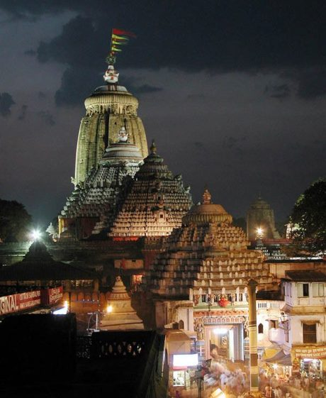 Jagannatha Temple at Puri