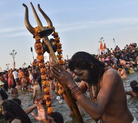 Sadhu at Kumbh Mela