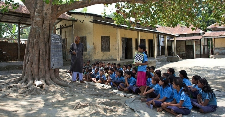 Village school in UP