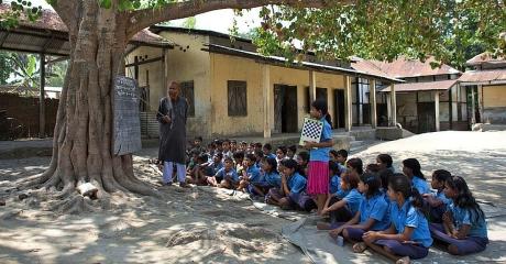 Village school in UP