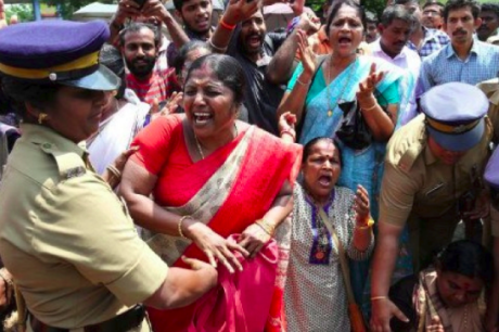 Kerala women's protest harassed by police