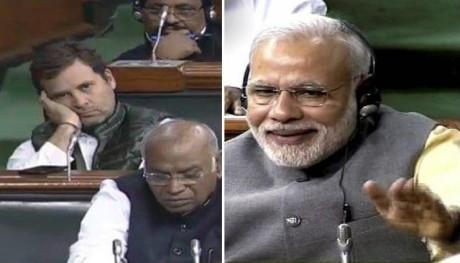 Rahul Gandhi & Narendra Modi