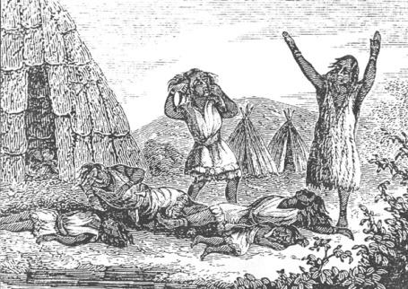 Smallpox killed the Native Americans