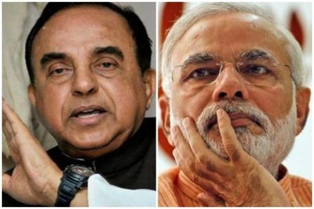 Dr Subramanian Swamy & PM Narendra Modi