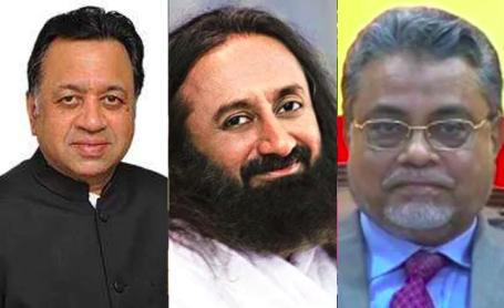 Mediators: Justice Kalifulla, Sri Ravi Shankar & Sriram Panchu