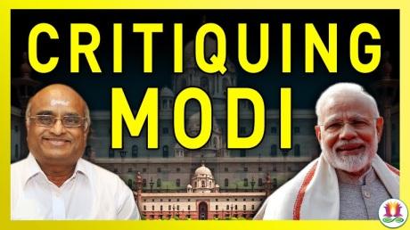 Vaidyanathan critiquing Modi