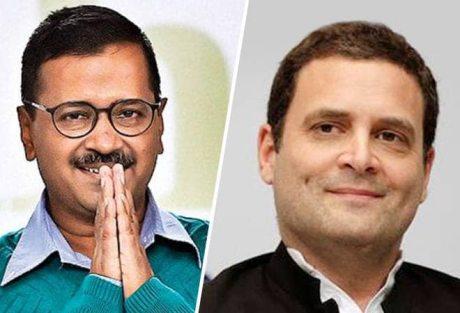 Arvind Kejriwal & Rahul Gandhi