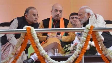 Arun Jaitley, Amit Shah & Narendra Modi