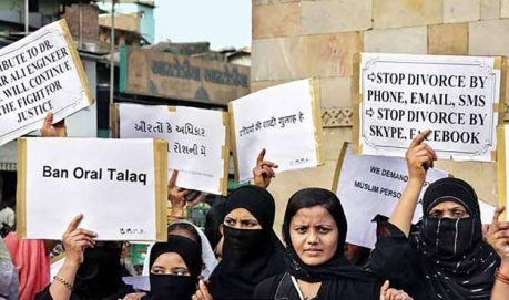 Triple Talaq Protest
