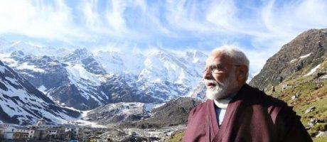 Narendra Modi at Kedarnath