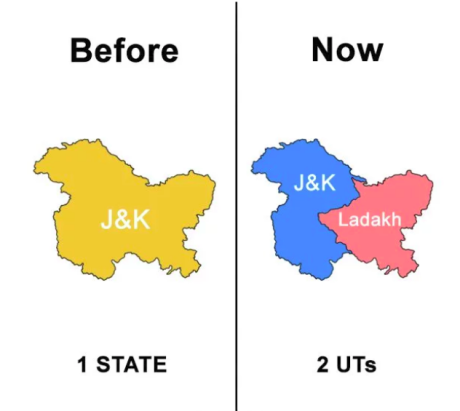 J&K and Ladakh Union Territories