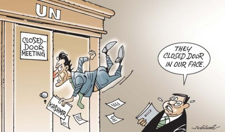 UN Kashmir Cartoon