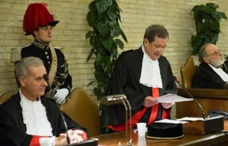 Vatican's Promoter of Justice Gian Piero Milano
