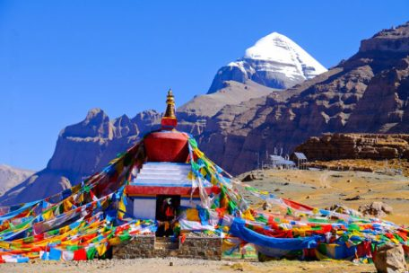 Mt Kailash in Tibet