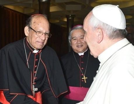 Pope Francis & Oswald Cardinal Gracias