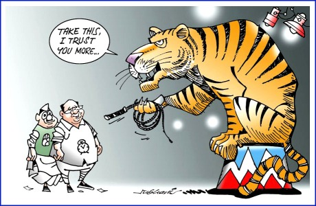 Maharashtra Political Cartoon