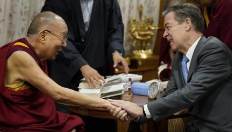 Dalai Lama & Sam Brownback