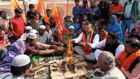 Ghar Wapsi : Reconversion to Hinduism