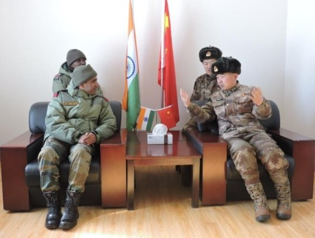 Border Personnel Meeting (BPM) between the armies of China and India held in Ladakh.