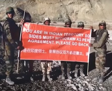 Indian Army in Ladakh