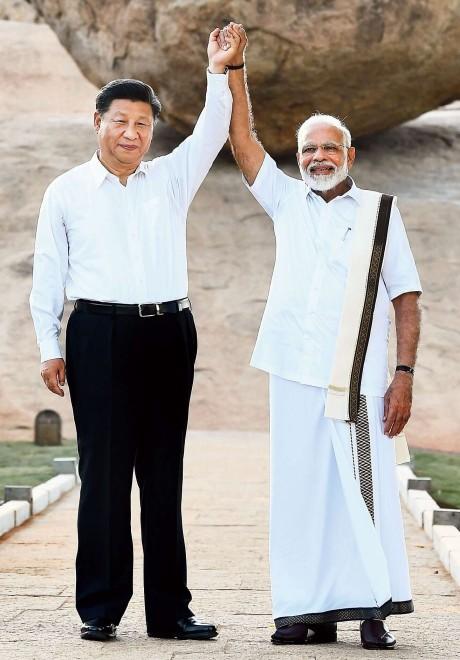 Narendra Modi & Xi Jinping (2019)