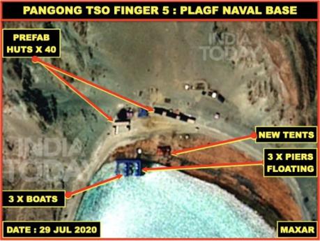 Pangong Tso Finger 5 (29 Jul 2020)