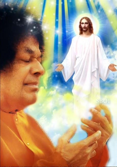 Sathya Sai Baba & Jesus