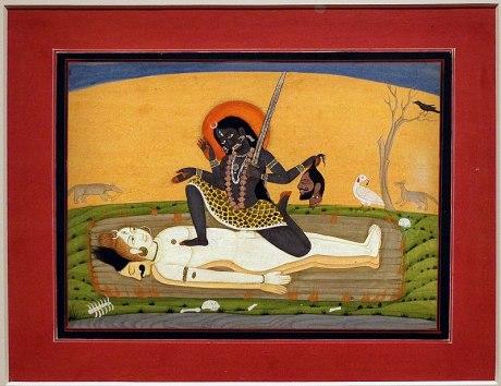 Union of Kali & Shiva, Himachal Pradesh (ca. 1810).